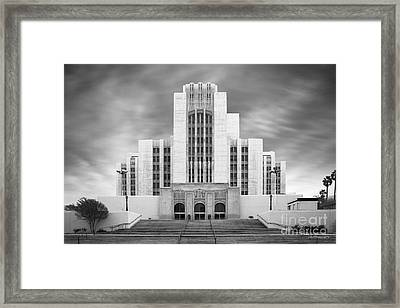University Of Southern California University Hospital Framed Print