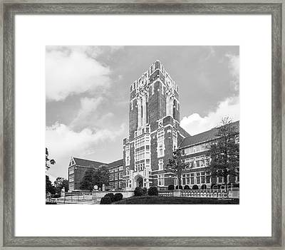 University Of Tennessee Ayres Hall Horizontal Framed Print