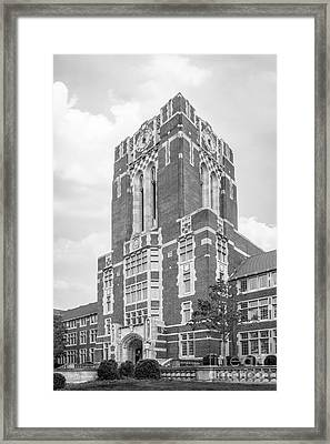 University Of Tennessee Ayres Hall Framed Print