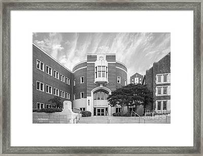 University Of Tennessee School Of Law Framed Print