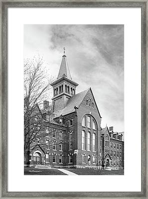 University Of Vermont Old Mill Framed Print by University Icons