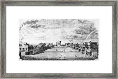 University Of Virginia Framed Print by Granger