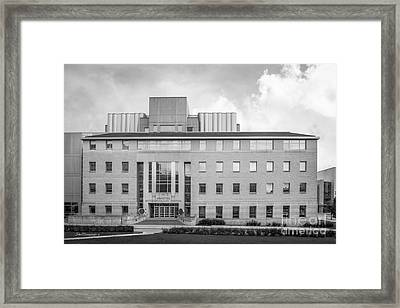 University Of Wisconsin Biotechnology Center Framed Print by University Icons