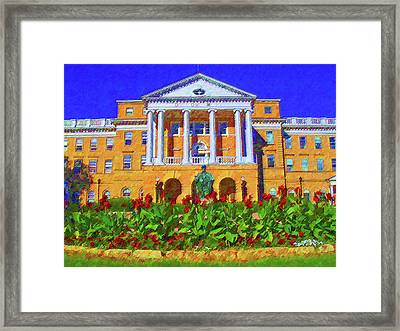 University Of Wisconsin  Framed Print