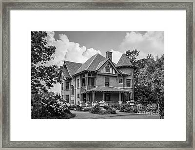 University Of Wisconsin Madison Agricultural Dean's Residence Framed Print by University Icons