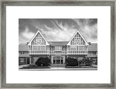 University Of Wisconsin Madison Stock Pavilion Framed Print by University Icons