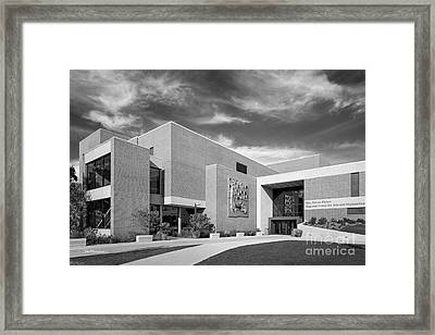 University Of Wisconsin Parkside Picken Center Framed Print by University Icons