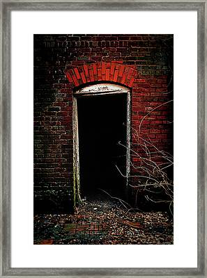 Framed Print featuring the photograph Unknowing by Jessica Brawley
