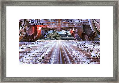 Unknown Destination Framed Print