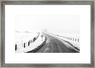 Unknown Destiny Framed Print by Cathy  Beharriell