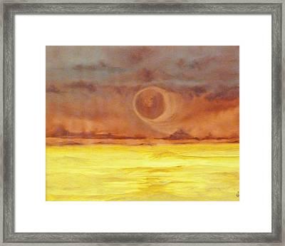 Unknown Planet Framed Print by Cheryl Allin