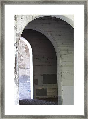 Framed Print featuring the photograph Unknown Portal by Kate Purdy