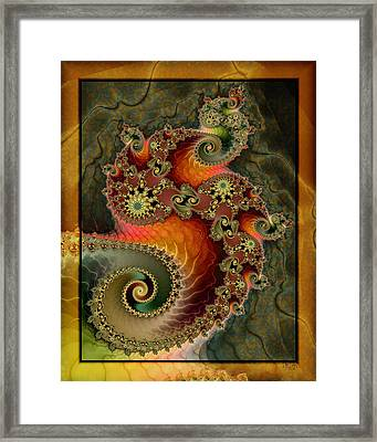 Unleashed Dragon Framed Print