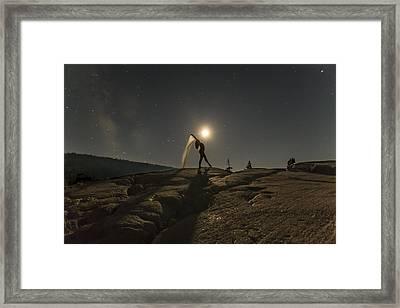 Unleash Your Potential Framed Print by Jeremy Jensen