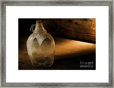 Unlikely Heart Framed Print by Ronald Hoggard