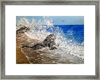 Unlimited Energy Framed Print by Faye Anastasopoulou