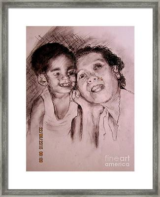 Unlimited Love 2 Framed Print