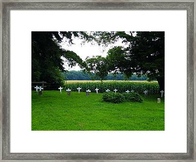Unmarked Youth Center Graves #2 Framed Print by The GYPSY