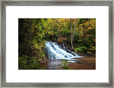 Unnamed Morgan Falls Framed Print