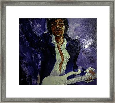 Unnamed Tribute Framed Print by Abby Reid