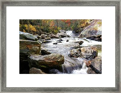 Unnamed Waterfall Framed Print