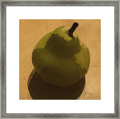 Uno Pares Framed Print by Tg Devore