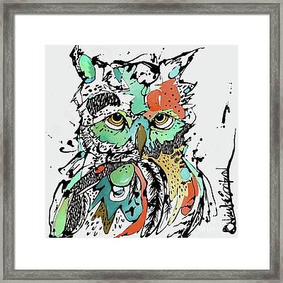 Unphased Framed Print by Nicole Gaitan