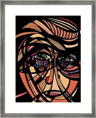 Unpresidented Framed Print by Lynellen Nielsen