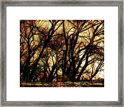Unquenched Thirst Framed Print