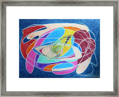 Unraveled Framed Print by Margaret Brooks