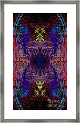 Unraveled Framed Print