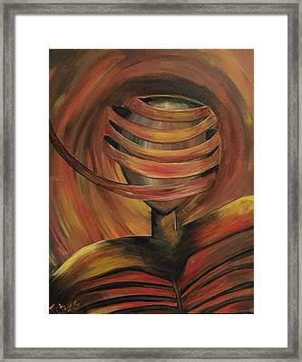 Unraveled Framed Print by Susan Peters