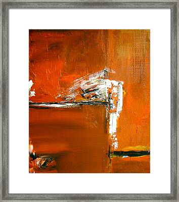 Unravelling The Chaotic Vision Framed Print by Stefan Fiedorowicz