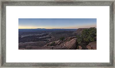 Unreal Expanse Framed Print by Jon Glaser