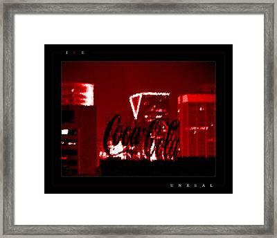 Unreal Framed Print by Jonathan Ellis Keys