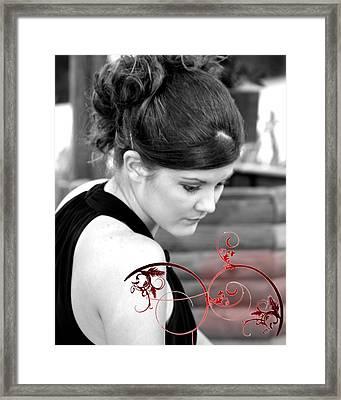 Unrealized Beauty Framed Print by Lynn Reid