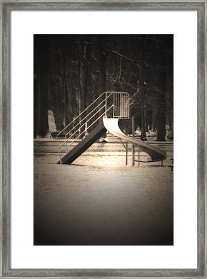 Unsafe Framed Print by Cathy  Beharriell
