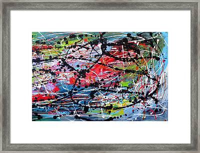 Unseen 2 Of 2 Framed Print