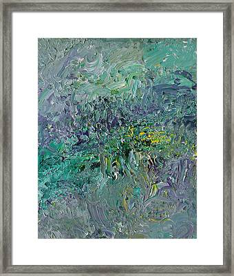 Blind Giverny Framed Print