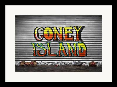 Hurricane Sandy Framed Prints
