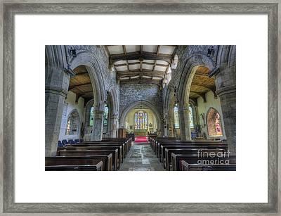 Unspoken Faith Framed Print
