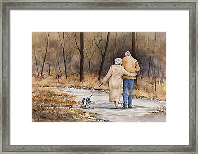 Unspoken Love Framed Print