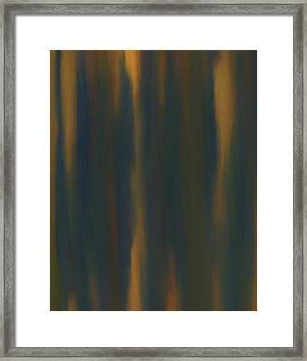 Unsteady Framed Print