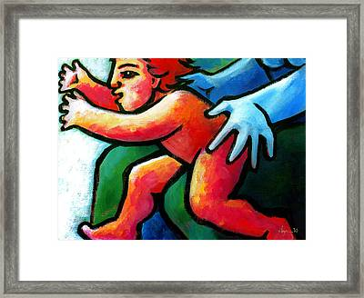 Unstoppable Framed Print by Angela Treat Lyon