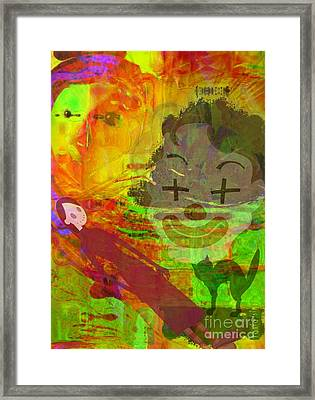 Unstoppable Force Framed Print by Fania Simon