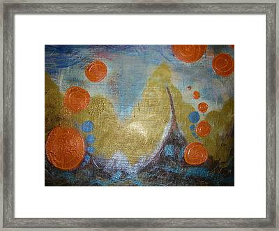 Untamed Angst   Framed Print by Seemoy Law-Hugh