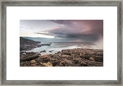 Untamed Coast Framed Print
