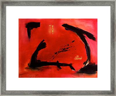 Untamed Framed Print by Eric Chapman