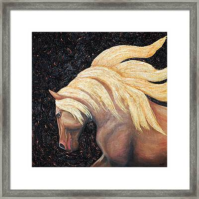 Untamed Freedom Framed Print by Michelle Joseph-Long