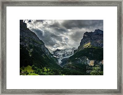 Unterer Grindelwaldgletscher - Grindelwald - Switzerland Framed Print by Gary Whitton